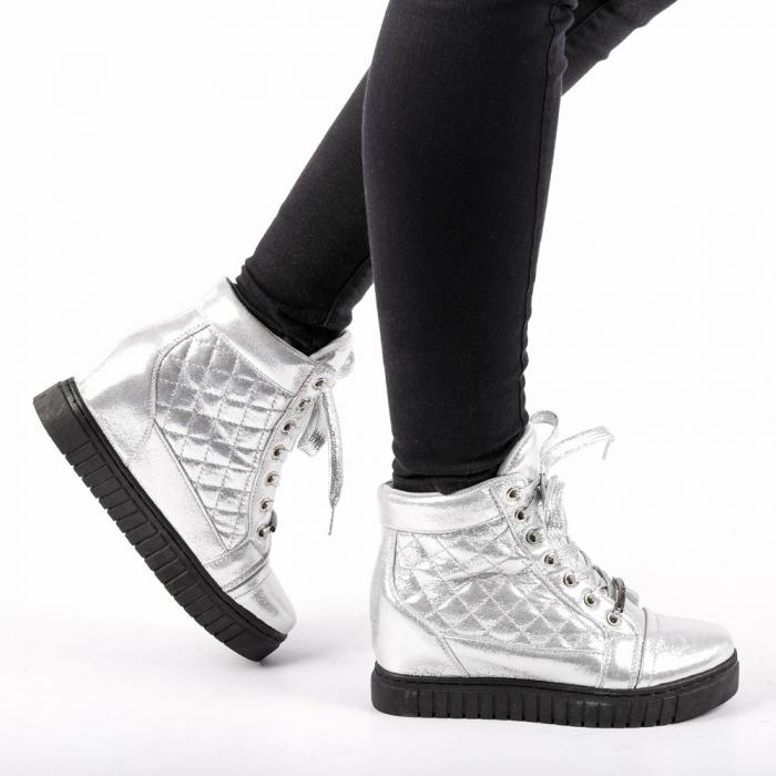 Pantofi sport dama  Jolly argintii 0