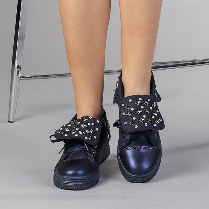 Pantofi sport dama Julles albastri 2