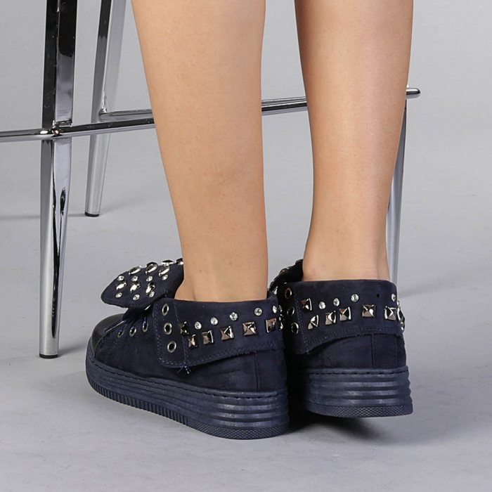 Pantofi sport dama Julles albastri 3