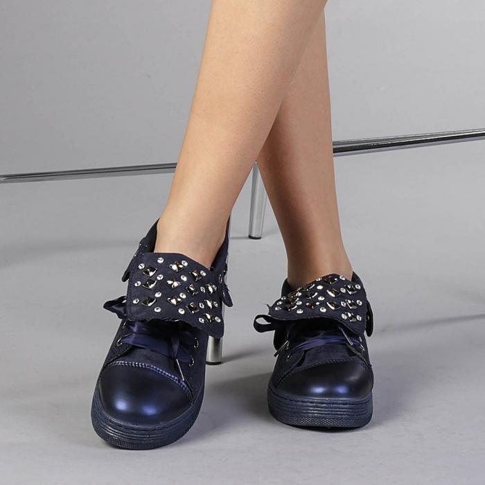 Pantofi sport dama Julles albastri 1
