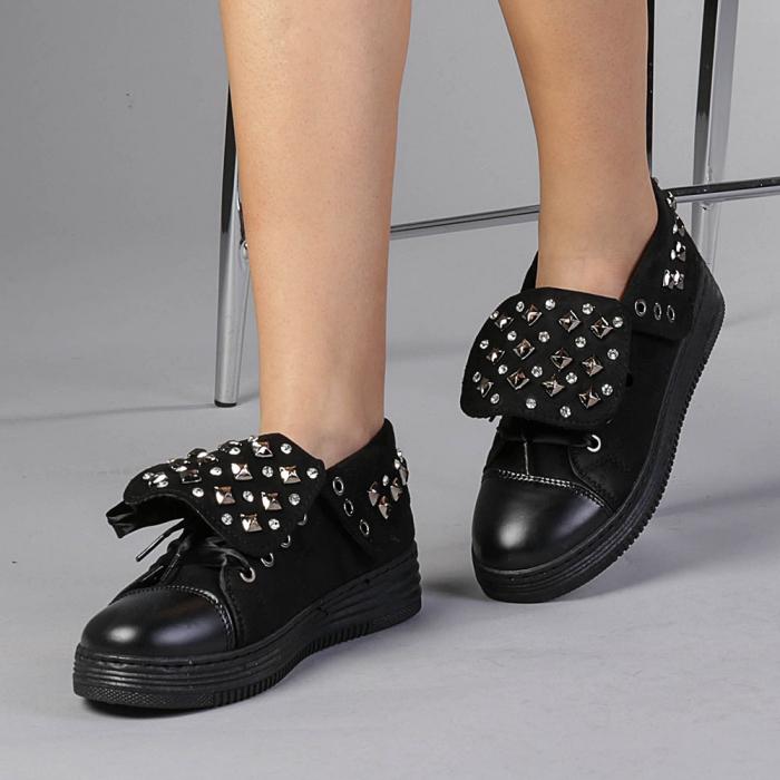 Pantofi sport dama Julles negri 0