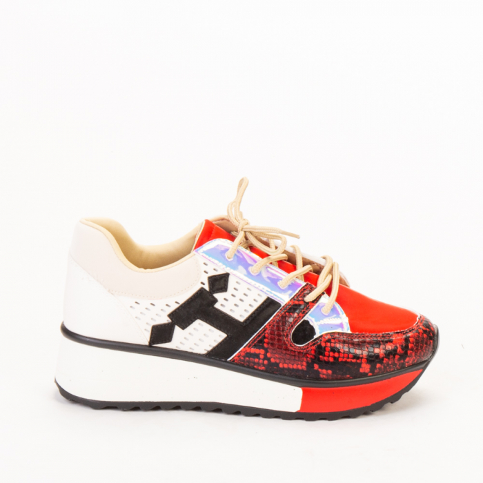 Pantofi sport dama Karem rosii 0