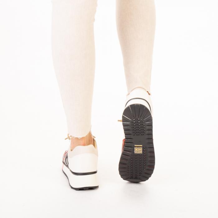 Pantofi sport dama Karem rosii 3