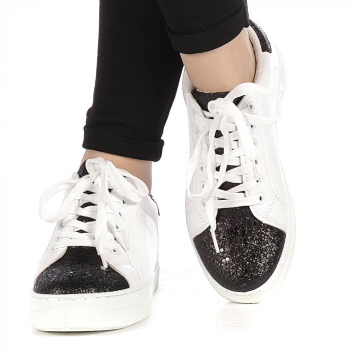 Pantofi sport dama Laila albi 1