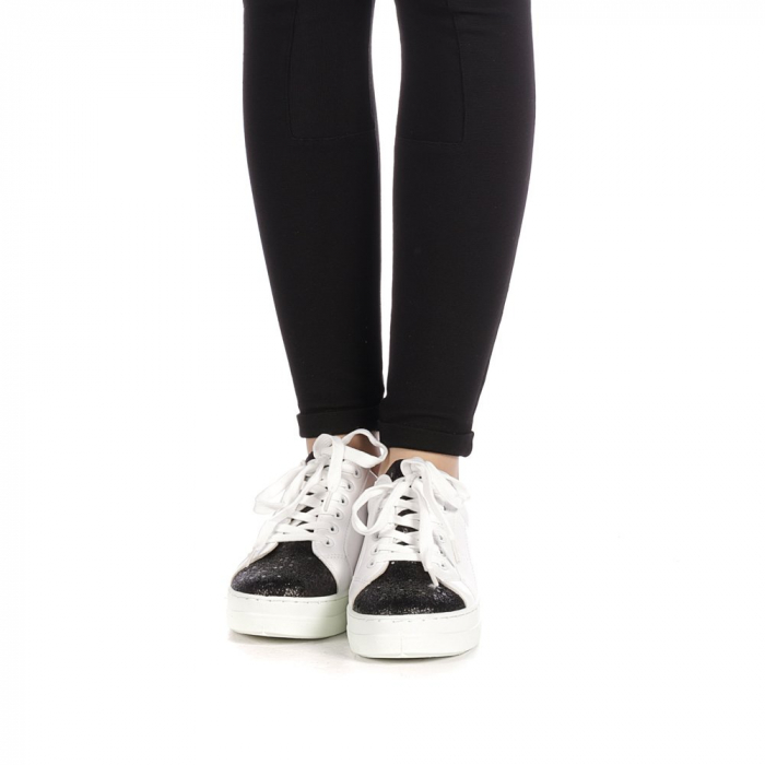 Pantofi sport dama Laila albi 4