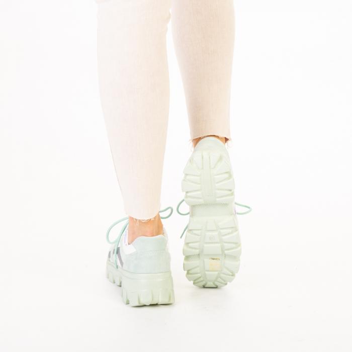 Pantofi sport dama Liberta verzi 3