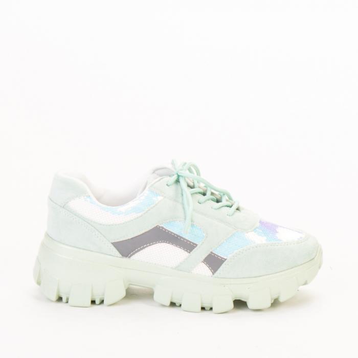 Pantofi sport dama Liberta verzi 0