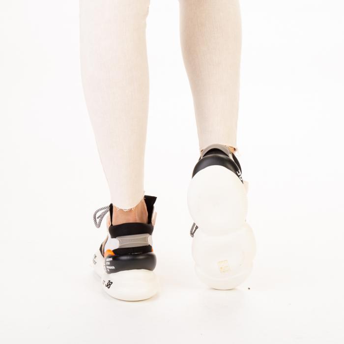Pantofi sport dama Live gri multicolor 3