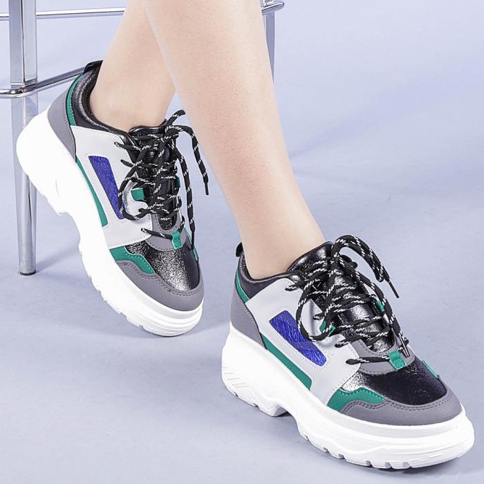 Pantofi sport dama Malini verzi 0
