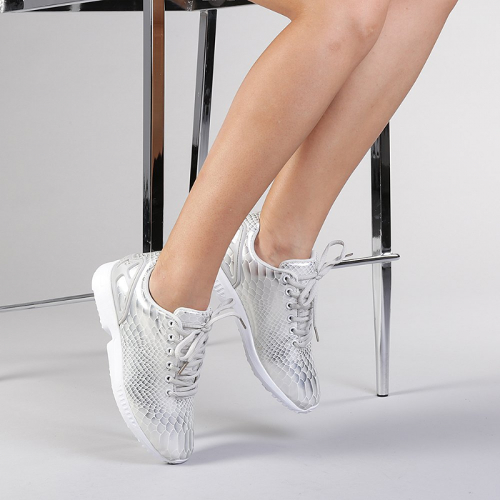 Pantofi sport dama Marmaid argintii 2