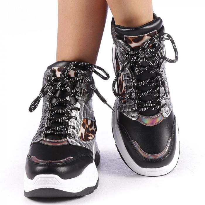 Pantofi sport dama Maryam negri 4