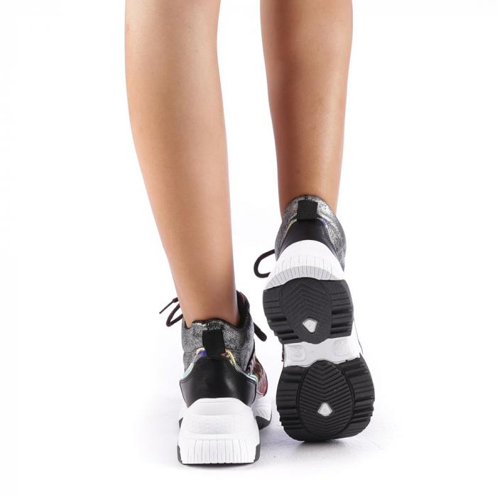Pantofi sport dama Maryam rosii 2