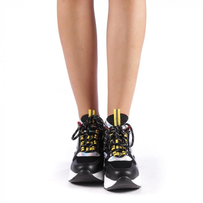 Pantofi sport dama Mayrra negri 3