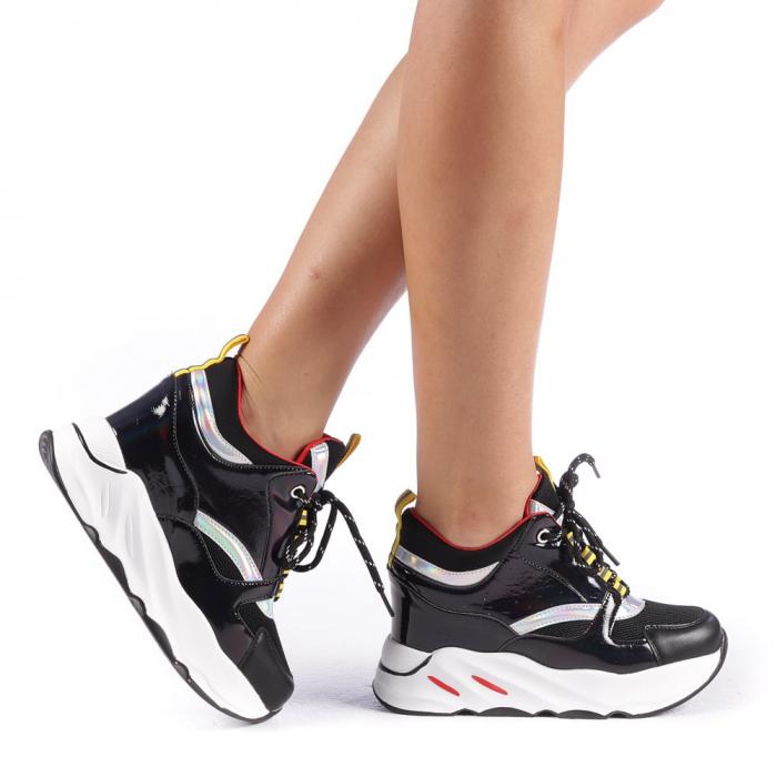 Pantofi sport dama Mayrra negri 0