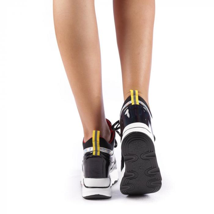 Pantofi sport dama Mayrra negri 2