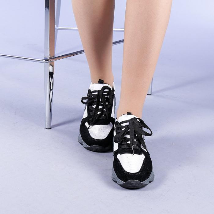 Pantofi sport dama Melody negri 1