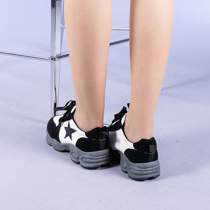 Pantofi sport dama Melody negri 3