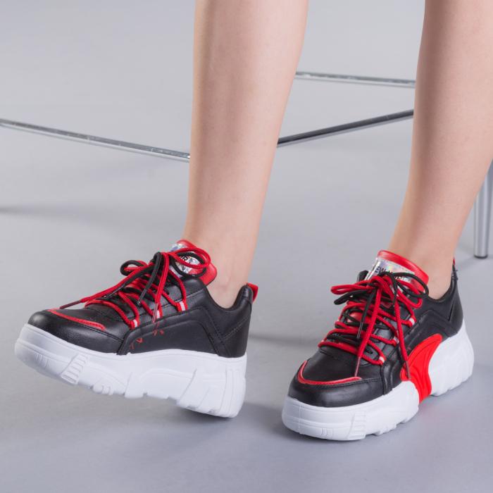Pantofi sport dama Naomi negri 0