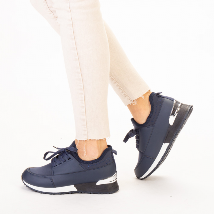 Pantofi sport dama Nava navy 2