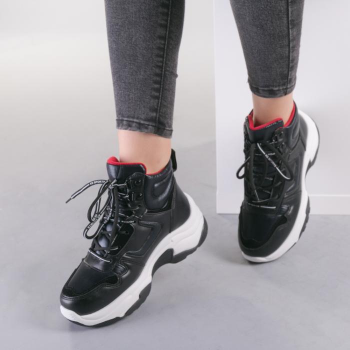 Pantofi sport dama Nini negri 2