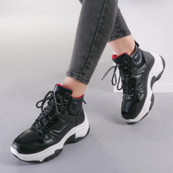 Pantofi sport dama Nini negri 3