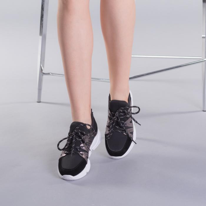 Pantofi sport dama Olga negri 3