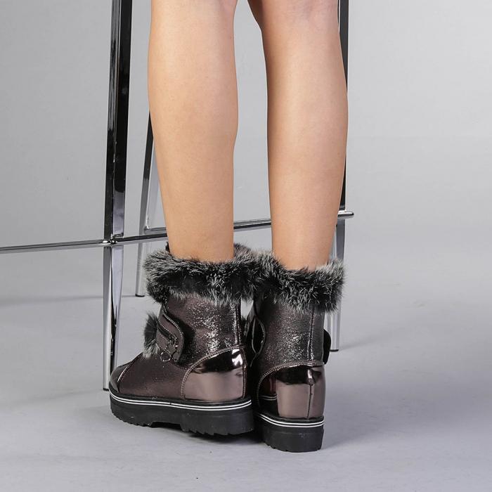 Pantofi sport dama  Olive bronz 3
