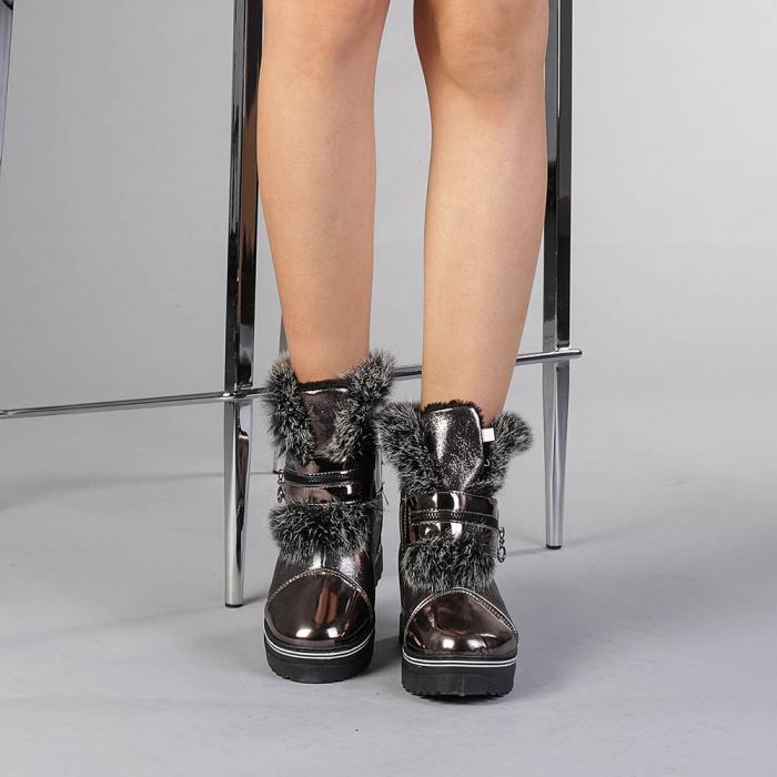 Pantofi sport dama  Olive bronz 1