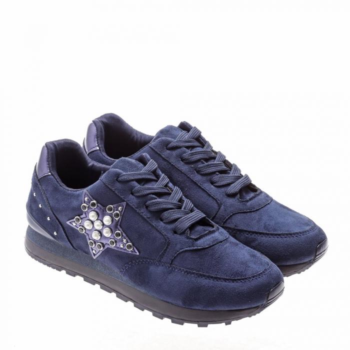 Pantofi sport dama Onora albastri 2