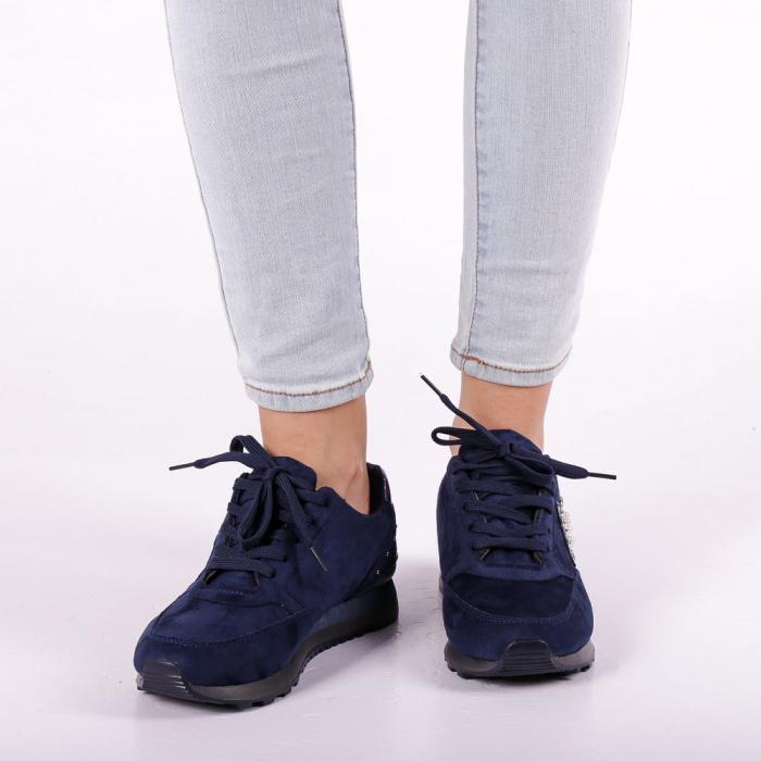 Pantofi sport dama Onora albastri 5