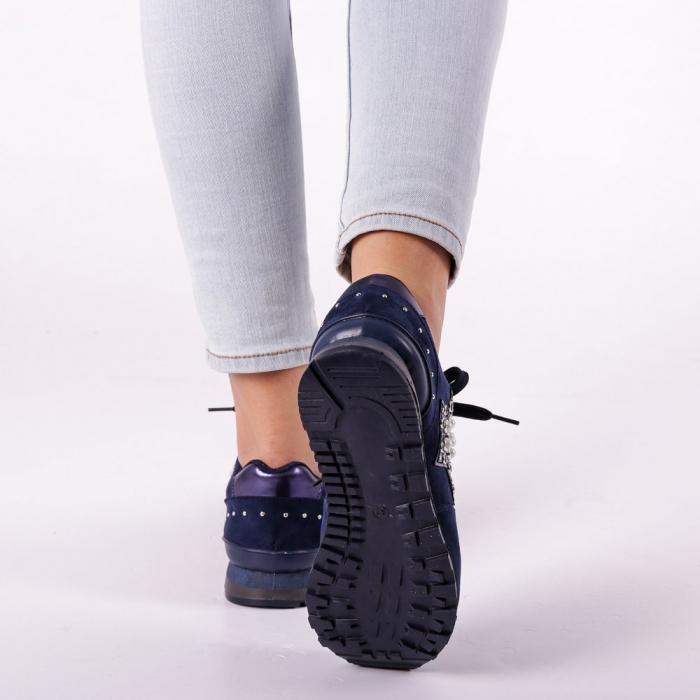 Pantofi sport dama Onora albastri 4
