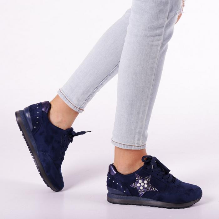 Pantofi sport dama Onora albastri 0