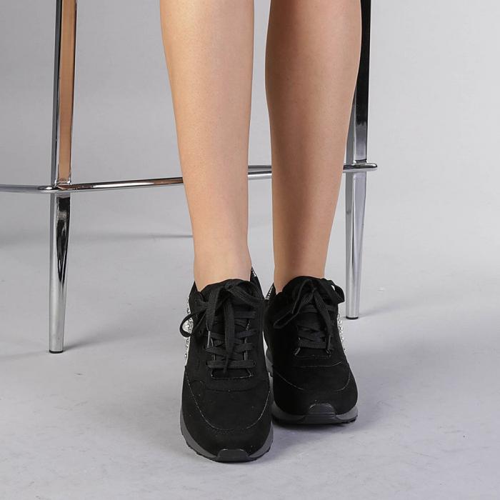Pantofi sport dama Onora negri 1