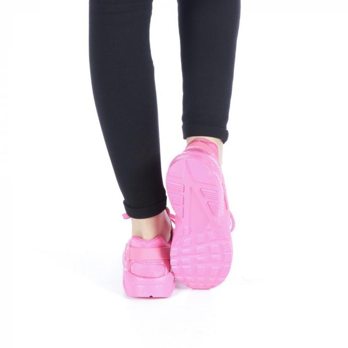 Pantofi sport dama Polina roz 3