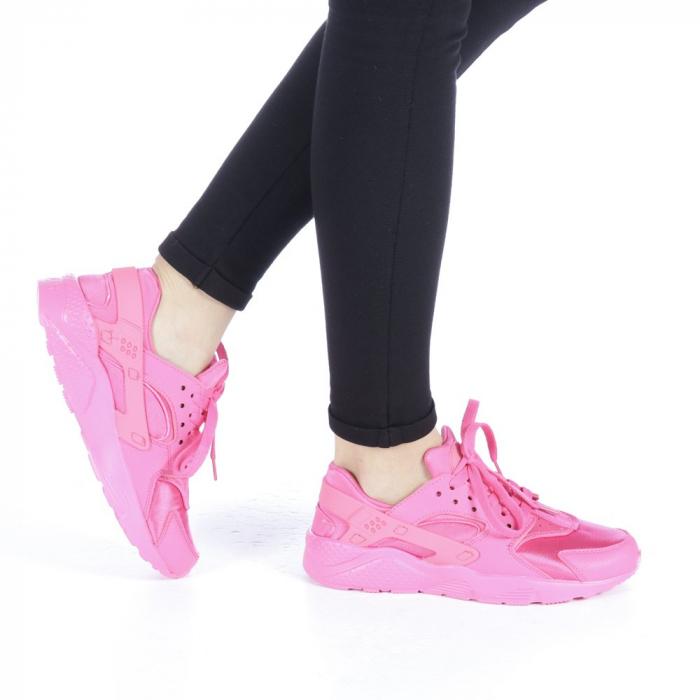 Pantofi sport dama Polina roz 0