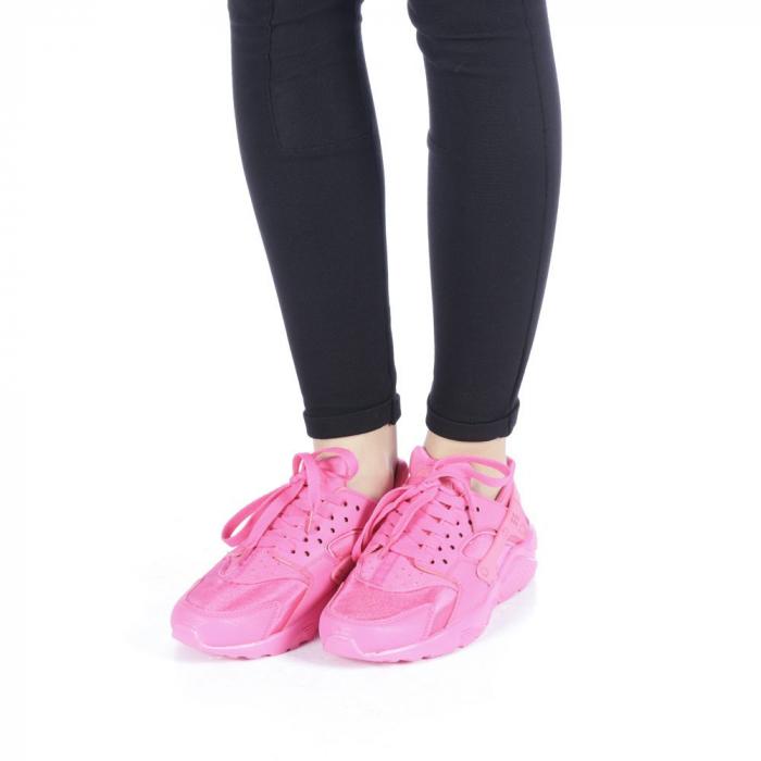 Pantofi sport dama Polina roz 2