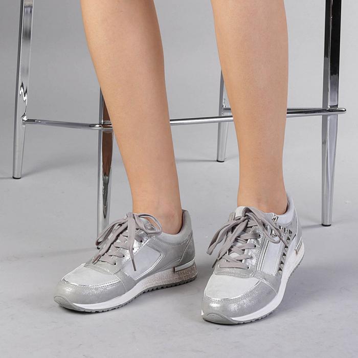 Pantofi sport dama Ressie argintii 0