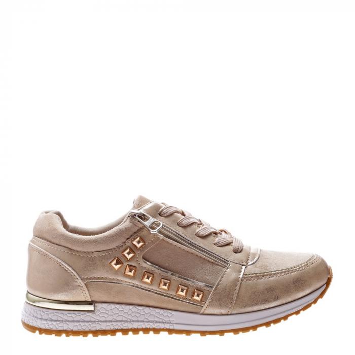 Pantofi sport dama Ressie bej 1