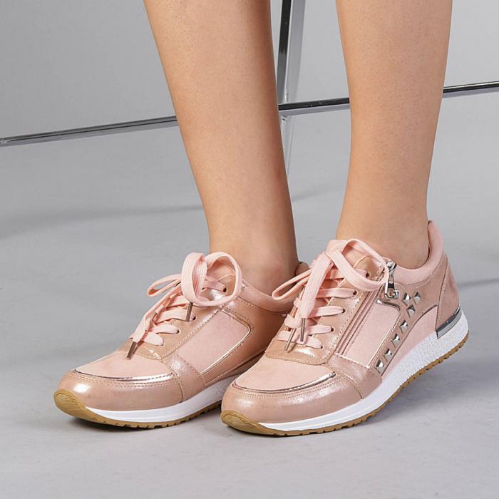Pantofi sport dama Ressie roz 0