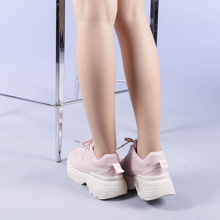 Pantofi sport dama Roxana roz 3