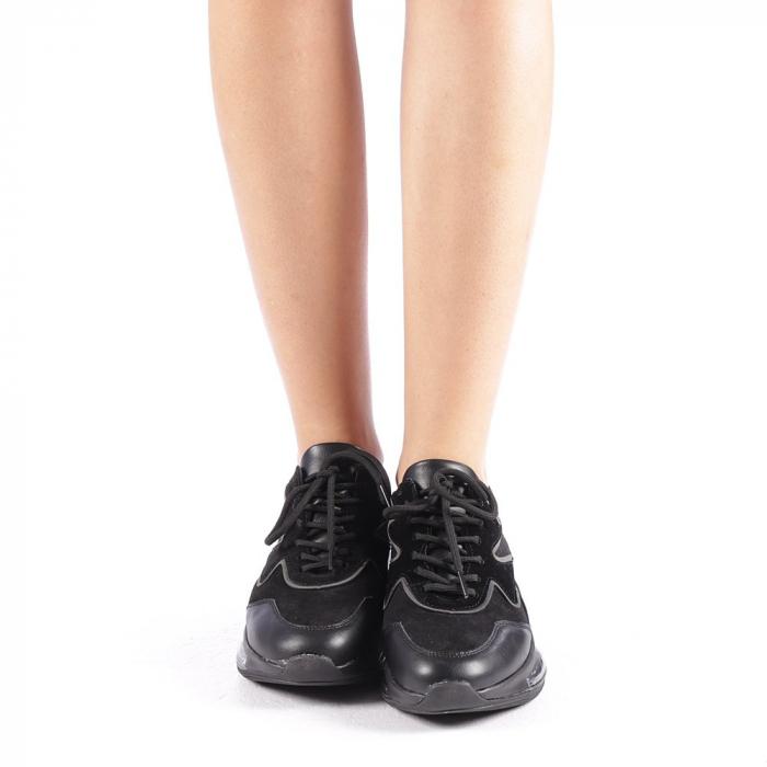 Pantofi sport dama Sadal negri 3
