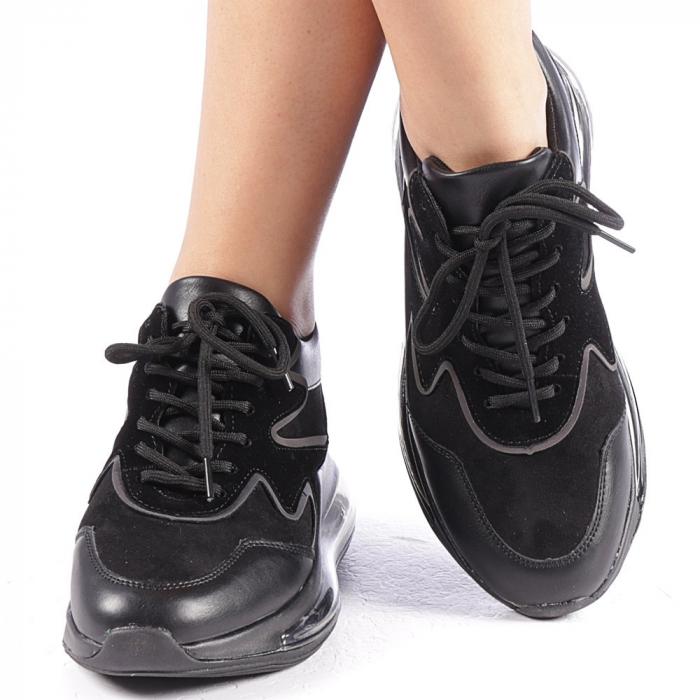 Pantofi sport dama Sadal negri 4