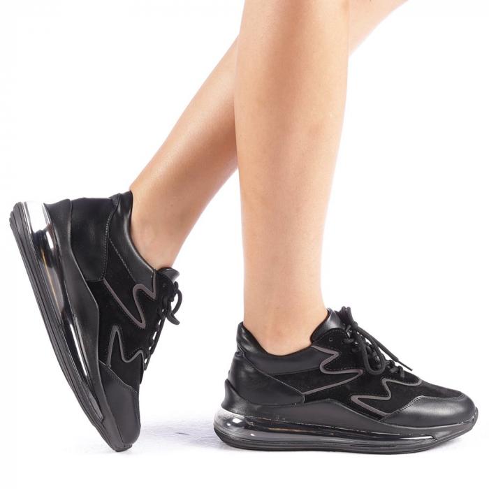 Pantofi sport dama Sadal negri 0