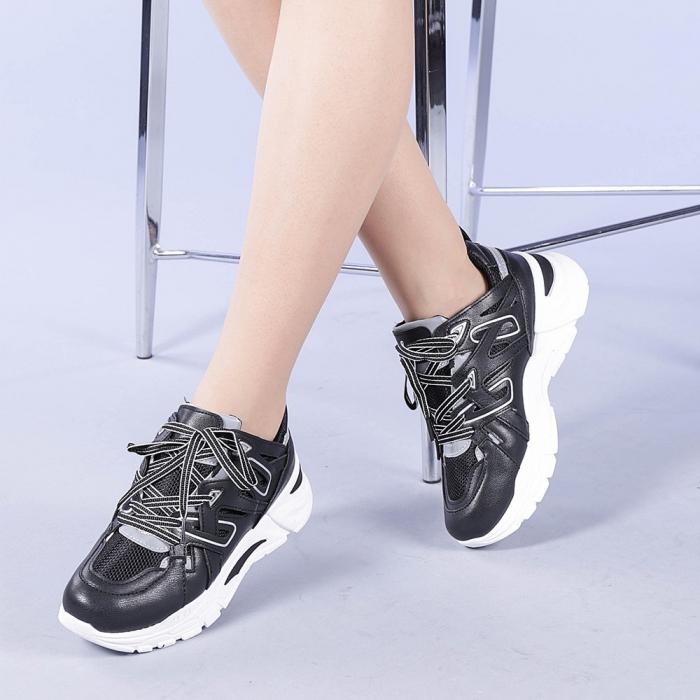 Pantofi sport dama Saima negri 2