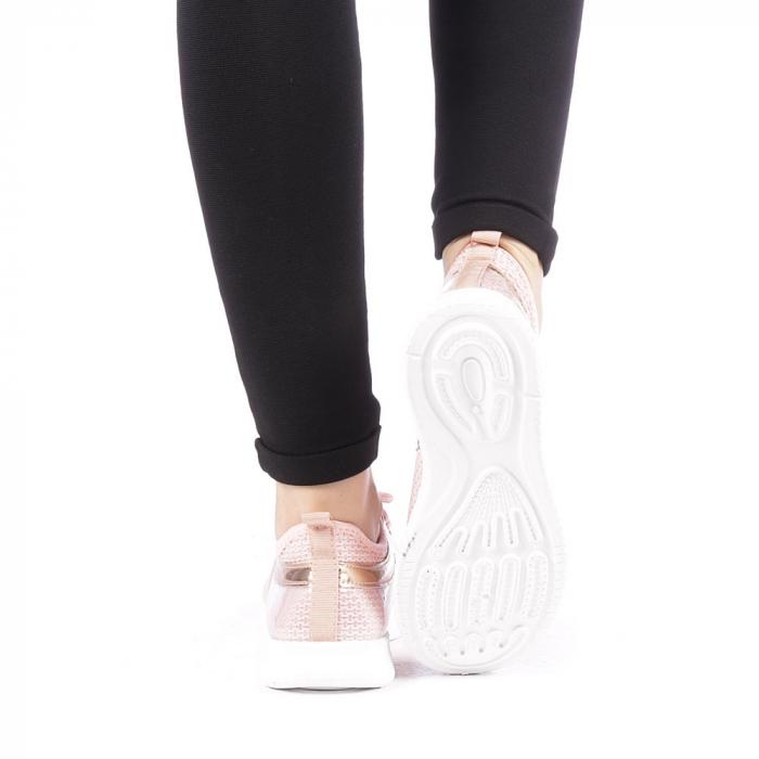 Pantofi sport dama Setena roz 3