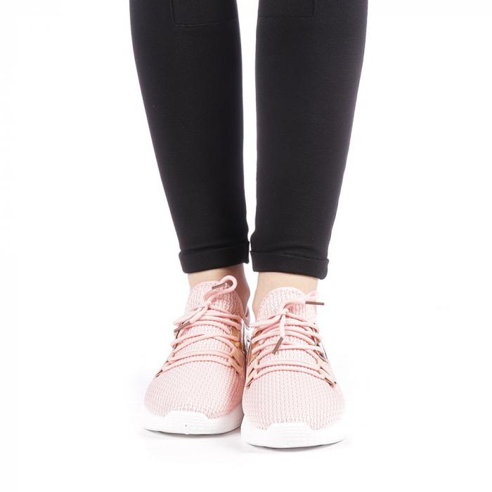 Pantofi sport dama Setena roz 4