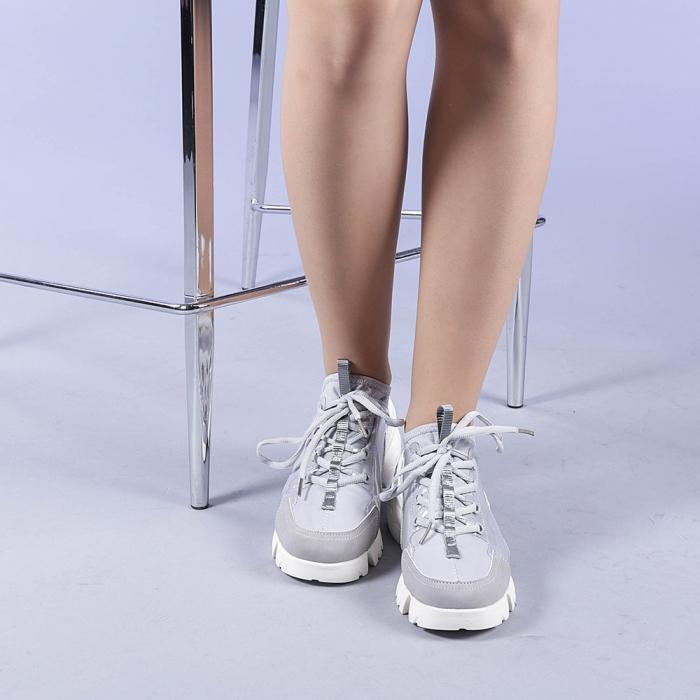 Pantofi sport dama Sonia gri 1