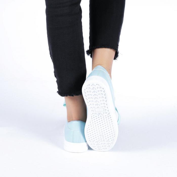 Pantofi sport dama Stefania albastri 2