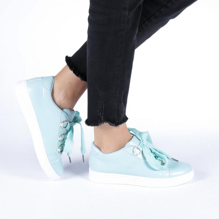 Pantofi sport dama Stefania albastri 0