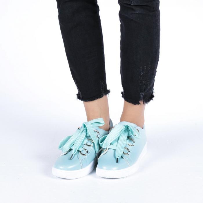 Pantofi sport dama Stefania albastri 1